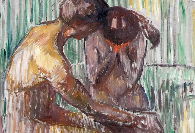 CONSOLACIÓN, 1907 Óleo sobre lienzo. Evard